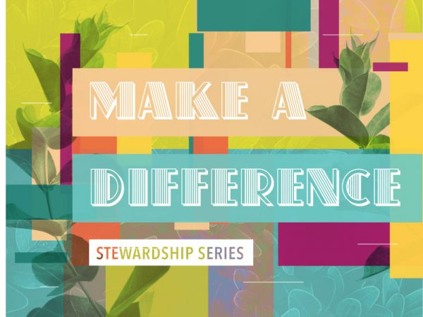 Make a Difference - Stewardship Series
